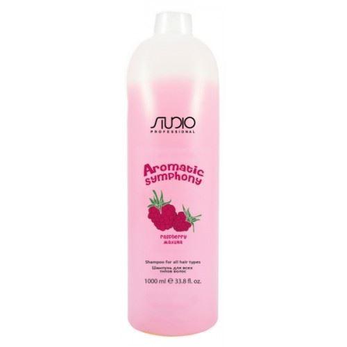 Шампунь Kapous Professional Shampoo for All Hair Types Raspberry 1000 мл alfaparf precious nature shampoo dry and thirsty hair шампунь для сухих волос испытывающих жажду 1000 мл