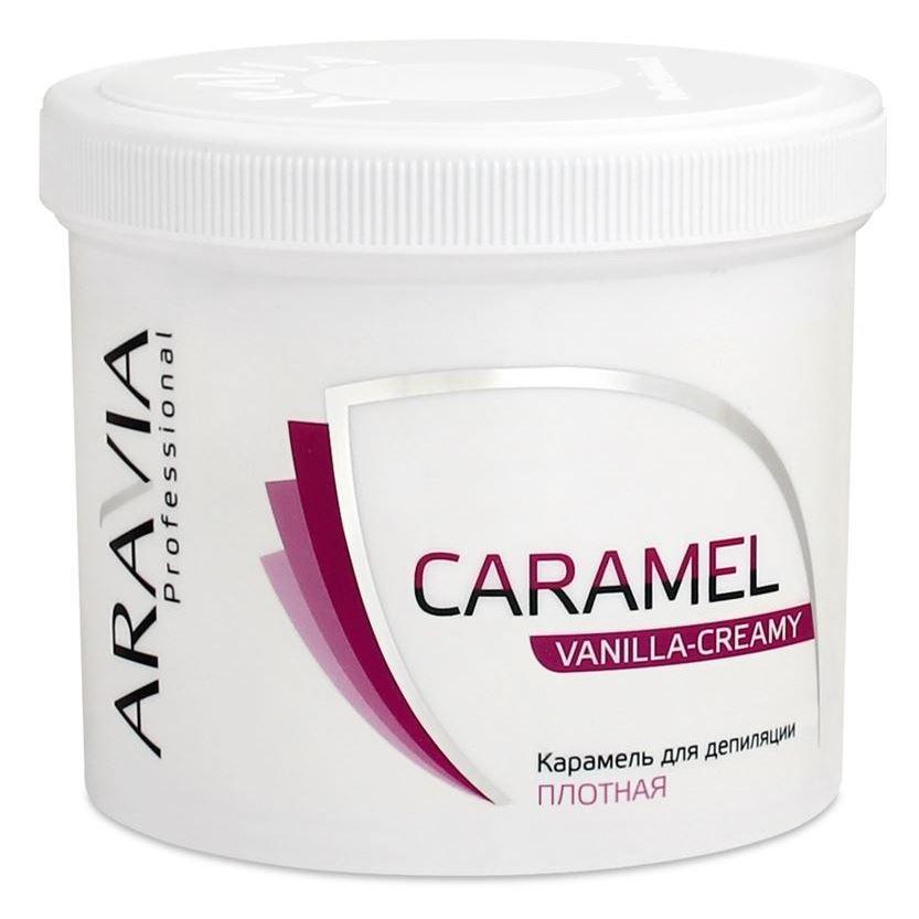 Воск Aravia Professional Caramel Vanilla-Creamy (750 г) протеин fuze сreatine сливочная карамель 750 г