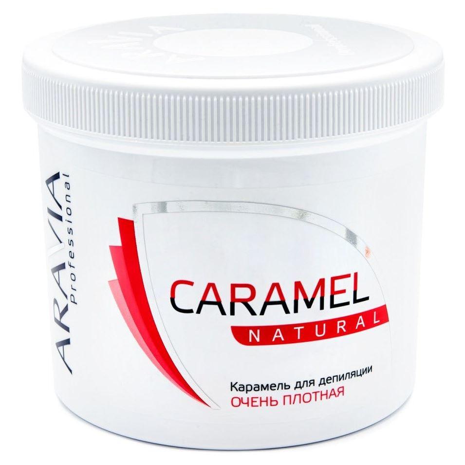 Воск Aravia Professional Caramel Natural (750 г) воск aravia professional expert мягкая 750 г