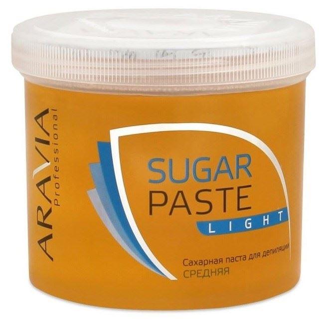 Воск Aravia Professional Sugar Paste Light (750 г) депиляция aravia professional сахарная паста для шугаринга expert мягкая объем 750 г