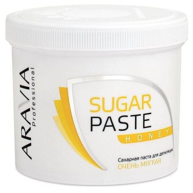 Воск Aravia Professional Sugar Paste Honey (750 г) депиляция aravia professional сахарная паста для шугаринга expert мягкая объем 750 г