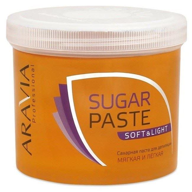 Воск Aravia Professional Sugar Paste Soft&Light (750 г) депиляция aravia professional сахарная паста для шугаринга expert мягкая объем 750 г
