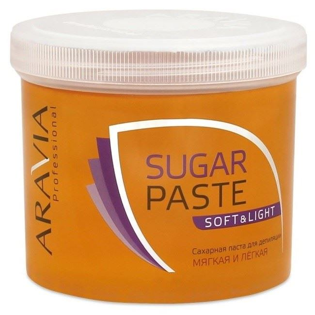 Воск Aravia Professional Sugar Paste Soft&Light (750 г) воск aravia professional expert мягкая 750 г