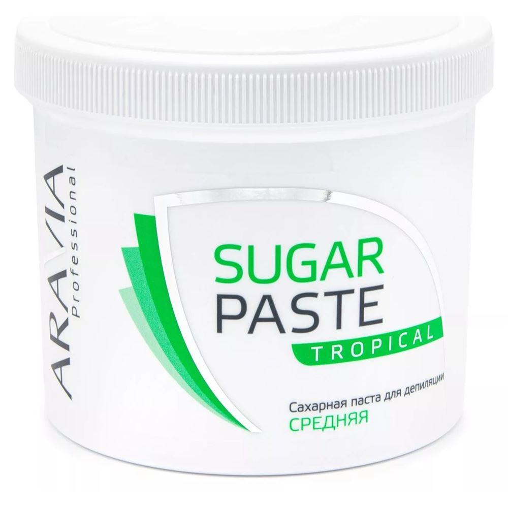 Воск Aravia Professional Sugar Paste Tropical (750 г) депиляция aravia professional сахарная паста для шугаринга expert мягкая объем 750 г