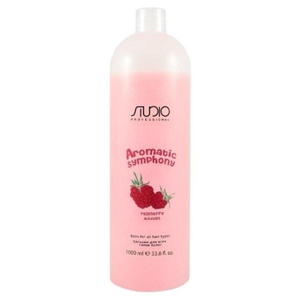 Бальзам Kapous Professional Balm for All Hair Types Raspberry 1000 мл бальзам tefia balsam for all hair types 250 мл
