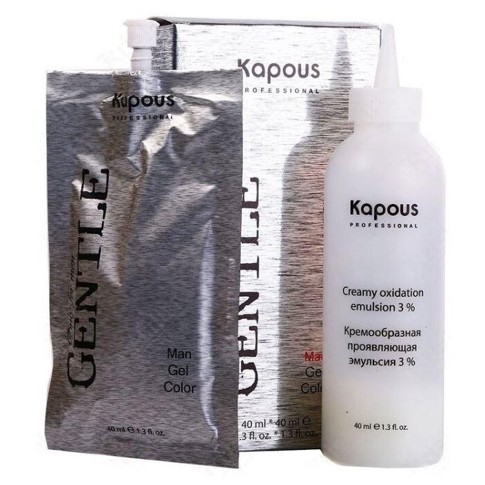 Краска для волос Kapous Professional Man Gel Color (№6 светло-коричневая) гель kapous professional man aftershave gel