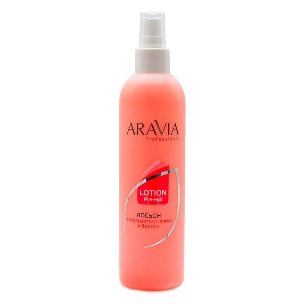 Лосьон Aravia Professional Lotion Pre-Epil Mint&Birch Extracts 300 мл aravia professional lotion post epil limon