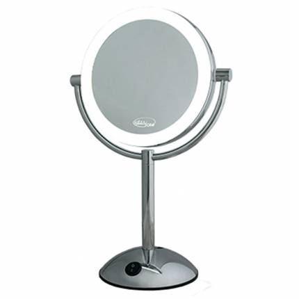 Зеркало Gezatone LM194 Зеркало косметологическое 2-х стороннее со светодиодной подсветкой (1 шт)  зеркало косметологическое с подсветкой gezatone lm110