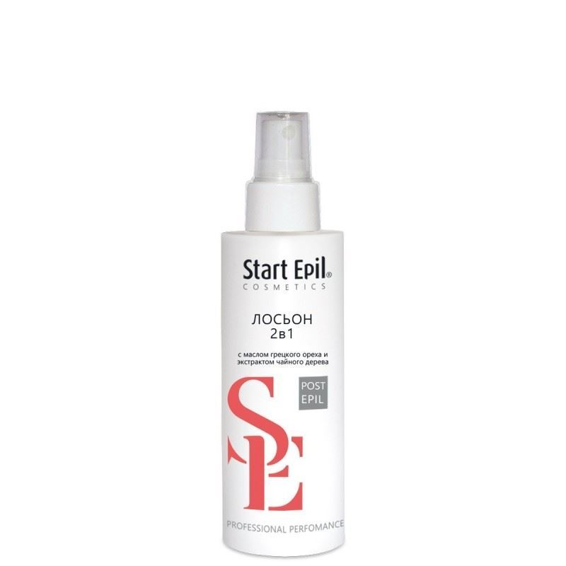 Лосьон Start Epil Лосьон Post-Epil 2-in-1 160 мл aravia professional lotion post epil limon