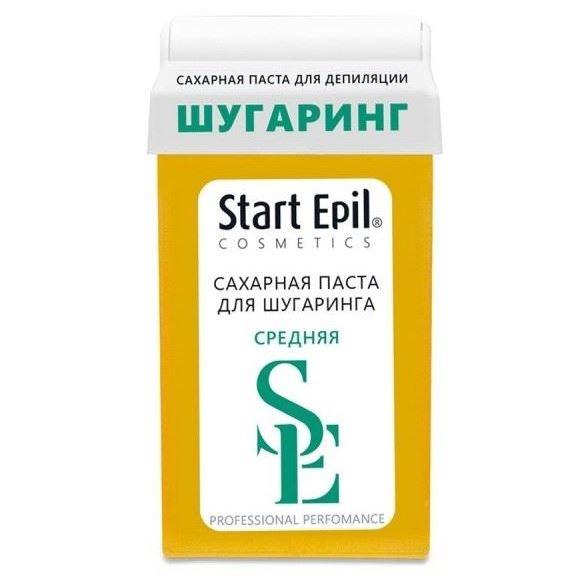 Воск Start Epil Паста для шугаринга «Средняя» в картридже  (100 г) паста лассара салицилово цинковая в омске