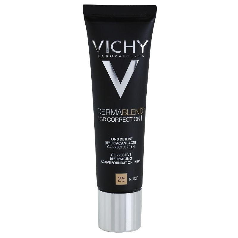 Корректор VICHY Тональная основа с высоким покрытием 3D 30 мл vichy dermablend 3d correcteur тональная основа тон 35 30 мл