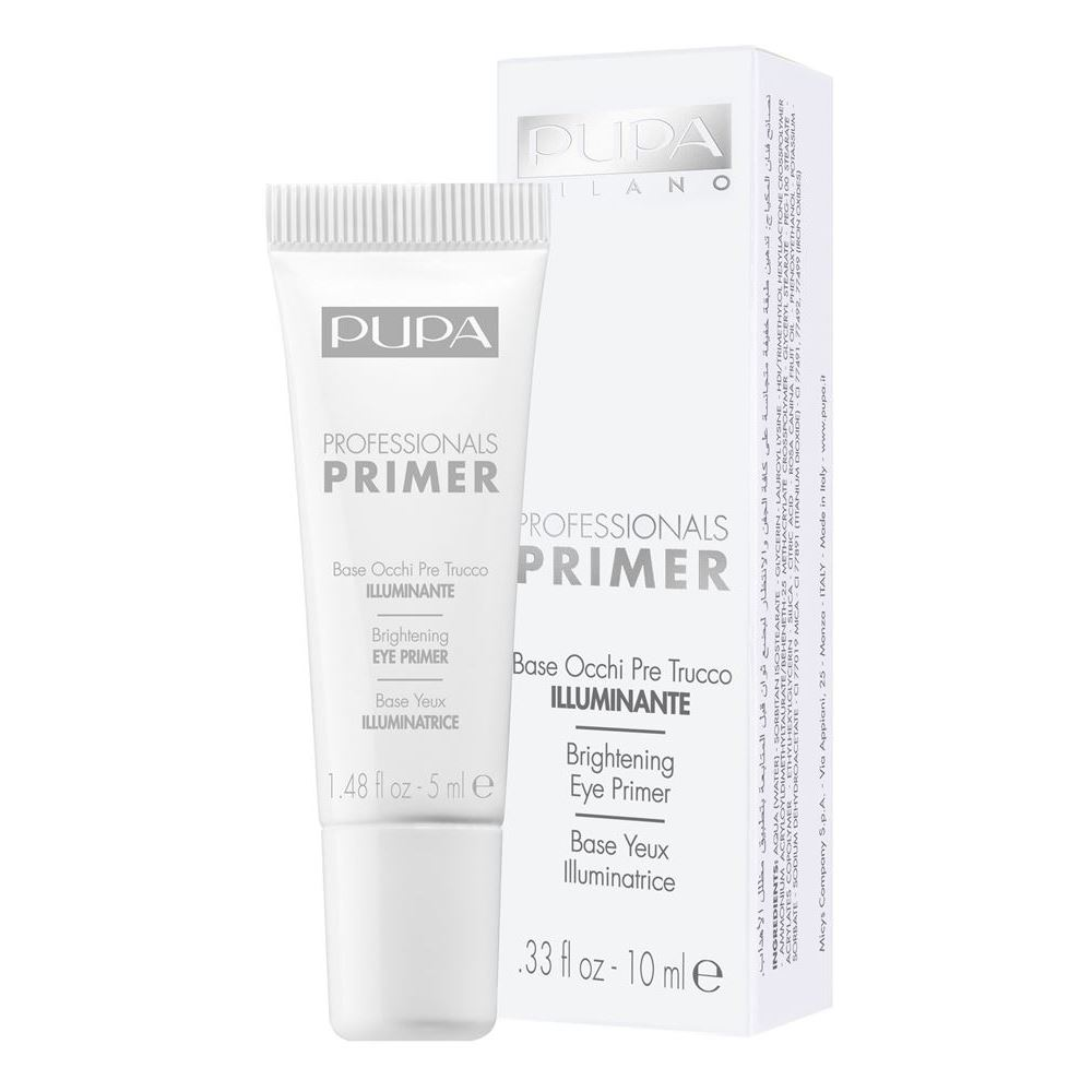 База под макияж Pupa Professional Brightening Eye Primer (001)