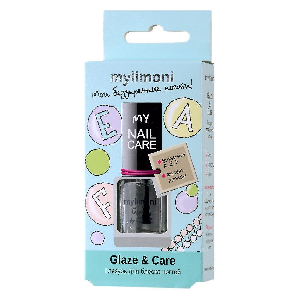 Лак для ногтей Limoni MyLimoni Glaze & Care  6 мл china glaze лак для ногтей мозаика china glaze nail lacquer glitz and pieces mosaic madness 81236 14 мл