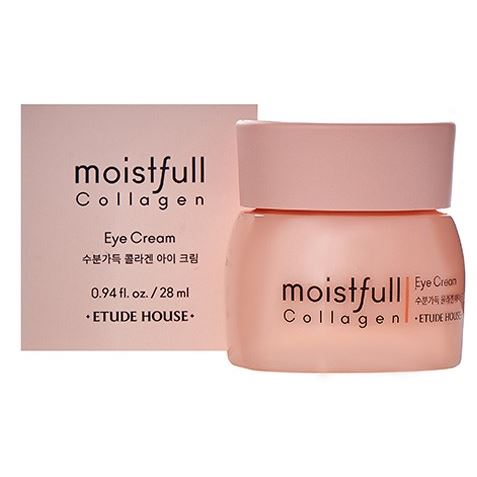 Крем Etude House Moistfull Collagen Eye Cream маска etude house moistfull collagen mask sheet