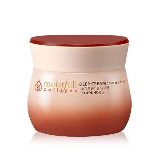 Крем Etude House Moistfull Super Collagen Deep Cream 75 мл крем etude house hand bouquet rich butter hand cream