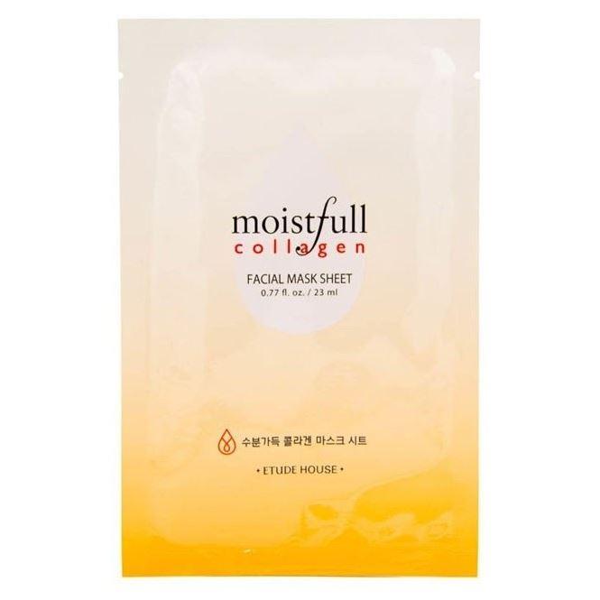 Маска Etude House Moistfull Collagen Mask Sheet 23 мл etude house collagen moistfull mask sheet 5sheets korean beauty [imported]