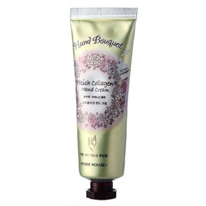 Крем Etude House Hand Bouguet Rich Collagen Hand Cream 50 мл the yeon canola honey silky hand cream крем для рук с экстрактом меда канола 50 мл