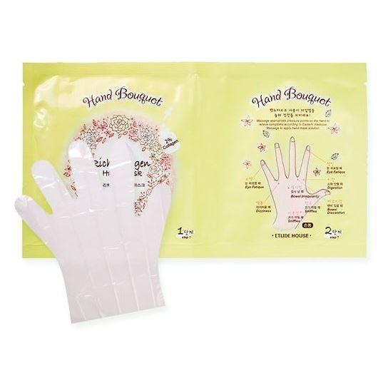 Маска Etude House Hand Bouguet Rich Collagen Hand Mask (16 гр) крем etude house hand bouquet rich butter hand cream 50 мл