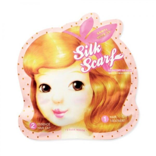 Маска Etude House Silk Scarf Double Care Hair Mask маска etude house moistfull collagen mask sheet
