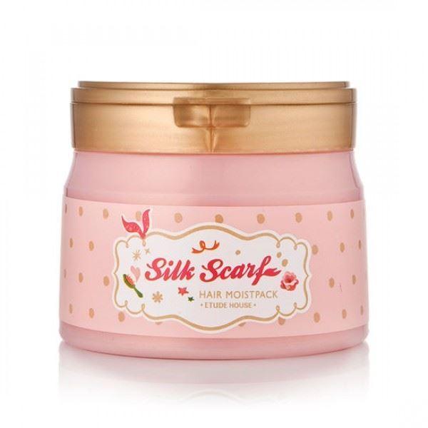 Маска Etude House Silk Scarf Hair Moist Pack 180 мл сыворотка etude house silk scarf hologram hair serum 120 мл