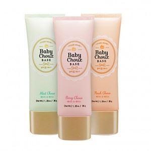 База под макияж Etude House Baby Choux Base  (Peach Shoux - Персик ) etude house soft touch