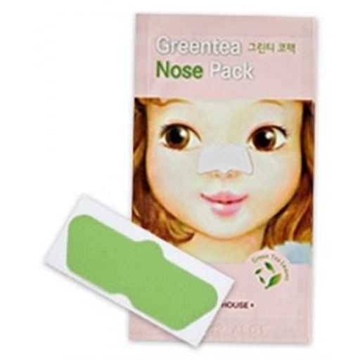 Маска Etude House Greentea Nose Pack (1 упаковка) etude house soft touch