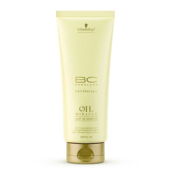 Шампунь Schwarzkopf Professional Oil Miracle. Light Oil Shampoo 200 мл спрей schwarzkopf professional 1 light control sparkler finish 300 мл