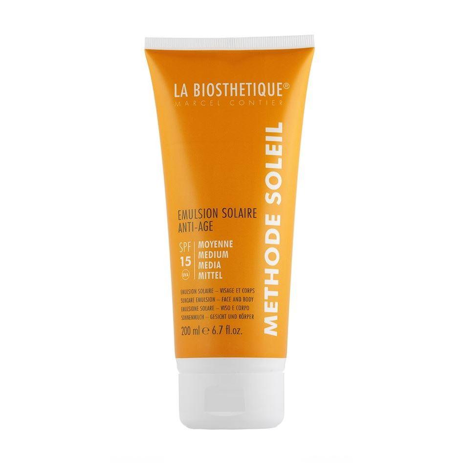 Молочко LaBiosthetique Emulsion Solaire Anti-Age SPF 15  200 мл labiosthetique creme solaire multi protection spf 50