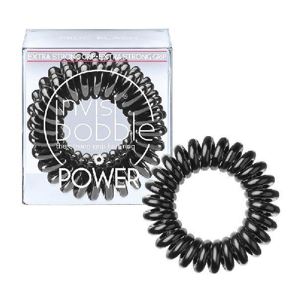 Сопутствующие товары Invisibobble Power True Black (набор: 3 шт) invisibobble power true black резинка браслет для волос power true black резинка браслет для волос