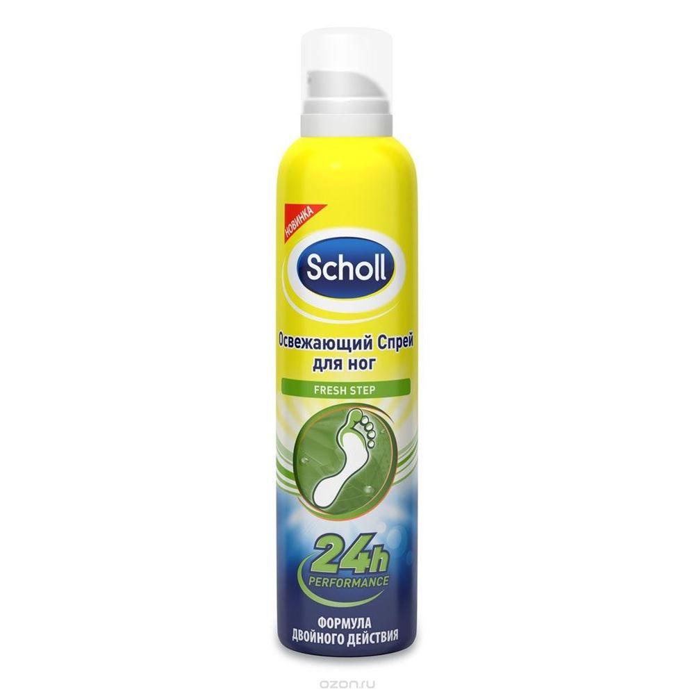 Спрей Scholl Fresh Step 150 мл косметика для мамы rexona алоэ вера дезодорант спрей deo 150 мл