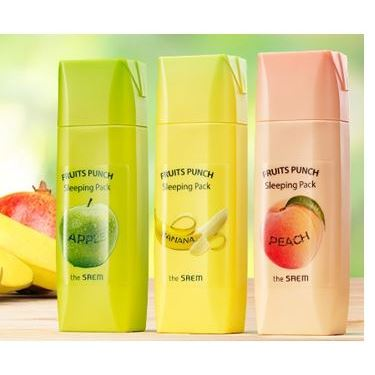 Маска The Saem Punch Sleeping Pack (Banana Sleeping Pack)