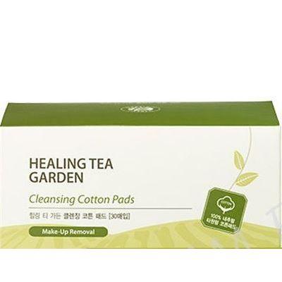 Концентрат The Saem Healing Tea Garden Cleansing Cotton Pads (30 шт) моторное масло motul garden 4t 10w 30 2 л