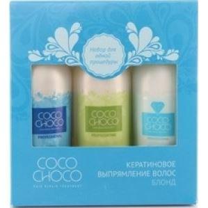 Набор: Набор Cocochoco Trio-Pak–100 Pure  (Набор) бразильское кератиновое выпрямление волос cocochoco pure