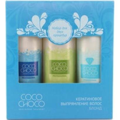 Набор: Набор Cocochoco Trio-Pak–200 Pure (Набор) бразильское кератиновое выпрямление волос cocochoco pure