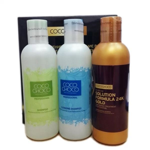 Набор Cocochoco Trio-Pak–200 (Набор) набор гель ahava набор elemental body trio