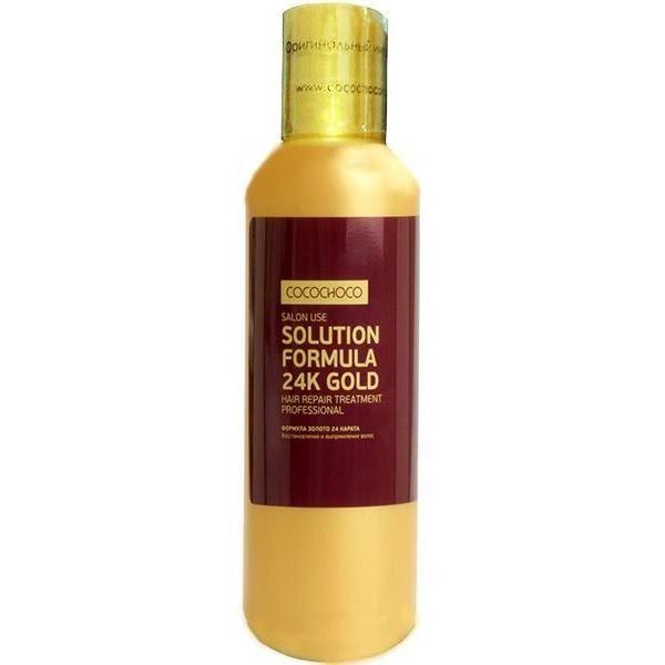 Концентрат Cocochoco Solution Formula 24K Gold аминокислоты ultimate nutrition amino gold formula 325 таб