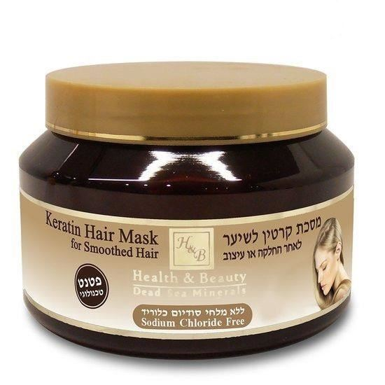 Маска Health & Beauty Keratin Hair Mask For Smoothed Hair  500 мл концентрат health