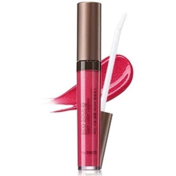 Блеск для губ The Saem Glam Luster Lipgloss (PK01) тени для век the saem glam eyes 05