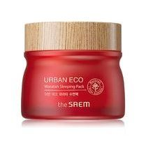 Маска The Saem Urban Eco Waratah Sleeping Pack 80 мл нolika holika ночная маска для лица pig collagen jelly pack 80 г