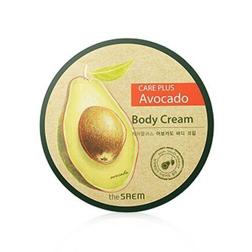 Крем The Saem Care Plus Avocado Body Cream 300 мл premier ароматический крем для тела чувственный premier body care aromatic body cream sensual a4 3 250 мл