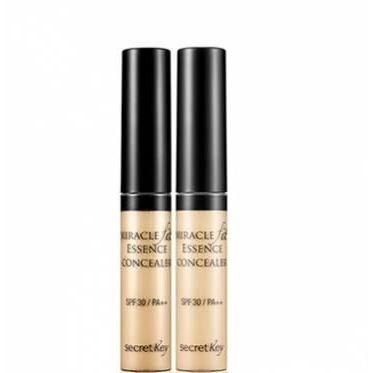 пудра berrisom essence founpact spf50 pa 23 База под макияж Secret Key Miracle Fit Essence Concealer SPF30 PA++ (23 )