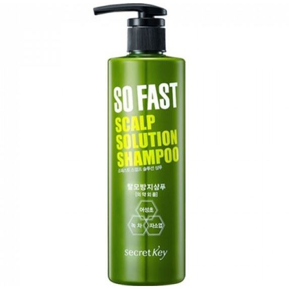 Шампунь Secret Key So Fast Scalp Solution Shampoo 500 мл шампунь secret key mu coating silk protein shampoo