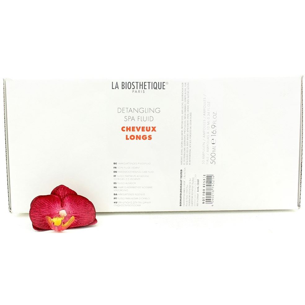 Флюид La Biosthetique Cheveux Longs Detangling Spa Fluid (50 ампул*10 мл)