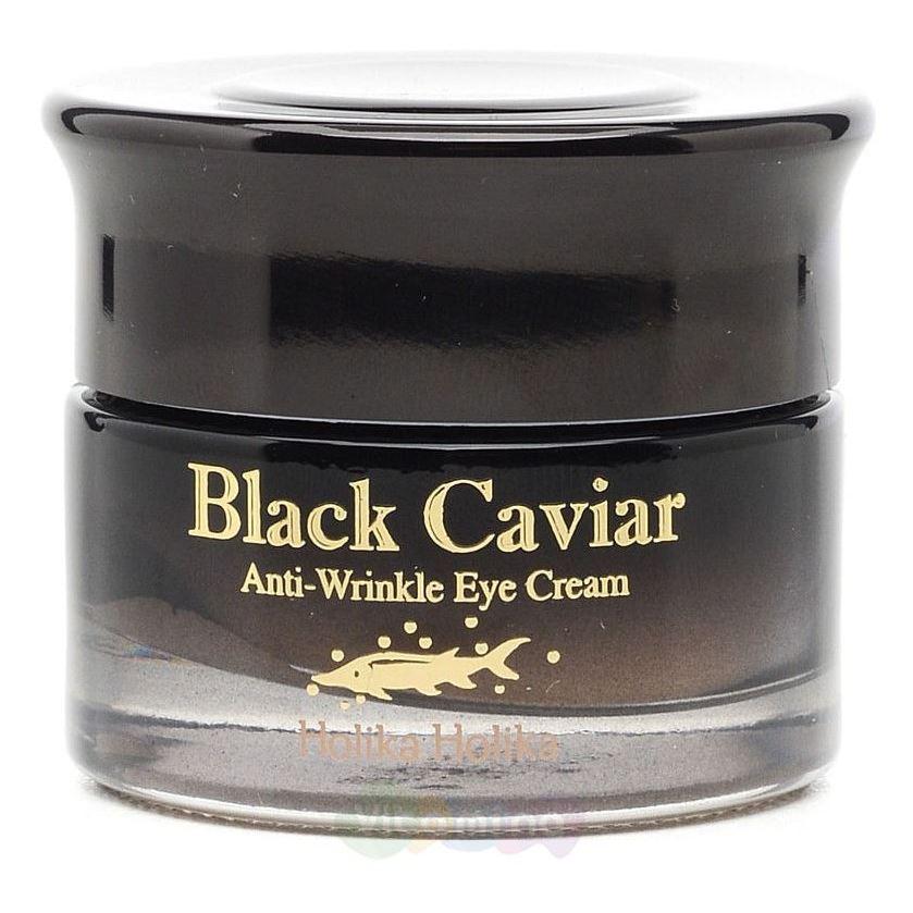 Крем Holika Holika Black Caviar Antiwrinkle Eye Cream крем skinfood gold caviar collagen eye serum