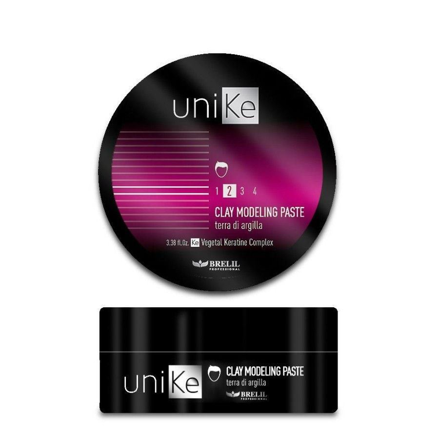 Крем Brelil Professional Unike Styling Clay Modeling Paste 100 мл крем brelil professional unike styling curly memory cream 200 мл