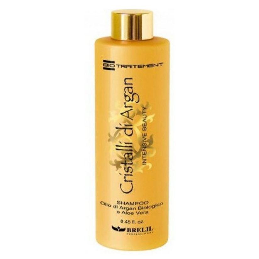 Шампунь Brelil Professional Cristalli d'Argan Intence Beauty Shampoo beauty image баночка с воском с маслом оливы 800гр