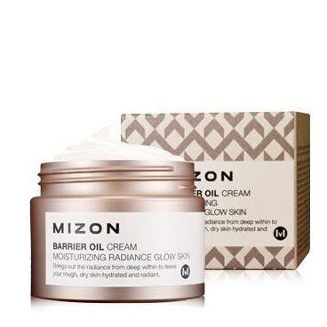 Крем Mizon Barrier Oil Cream beauty image баночка с воском с маслом оливы 800гр