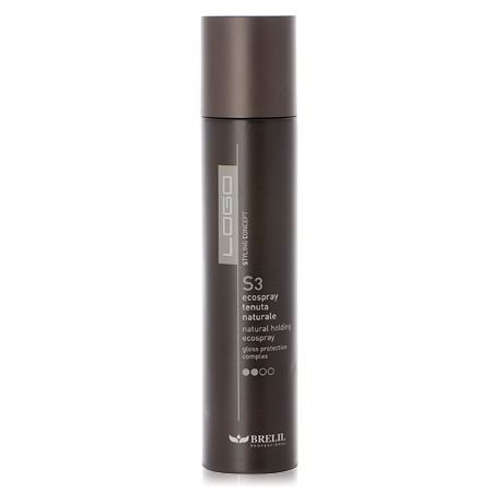 Спрей Brelil Professional S3 Natural Holding EcoSpray 300 мл спрей schwarzkopf professional 1 light control sparkler finish 300 мл