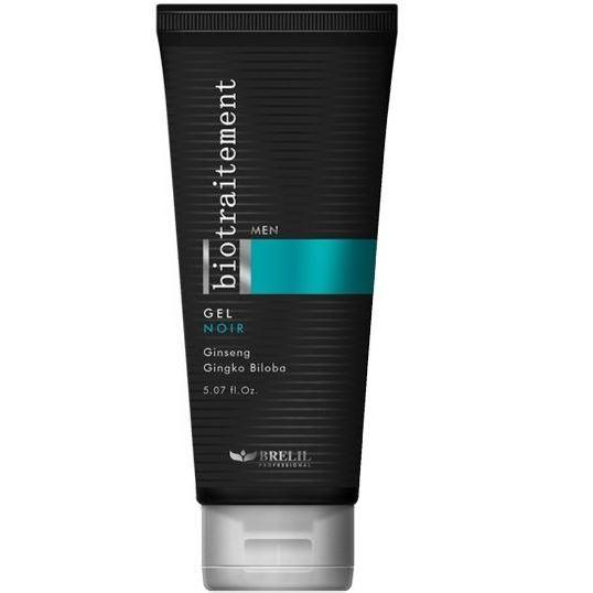 Гель Brelil Professional Homme Gel Noir гель brelil professional salon format gel extra strong