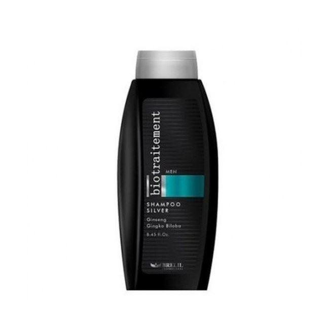 Шампунь Brelil Professional Homme Silver Shampoo шампунь brelil professional brelil professional mp002xw0ds9u